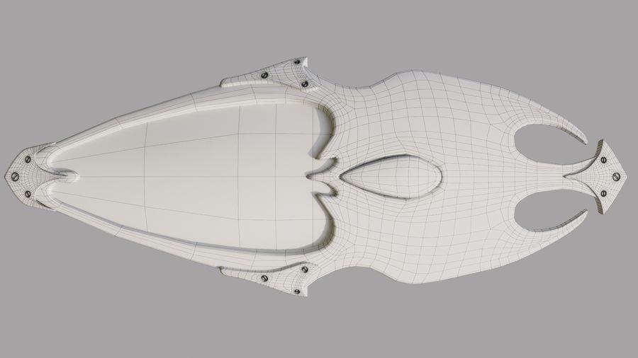 Fantasy Shield royalty-free 3d model - Preview no. 13