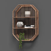 Bamboo Shelf Unit 3d model