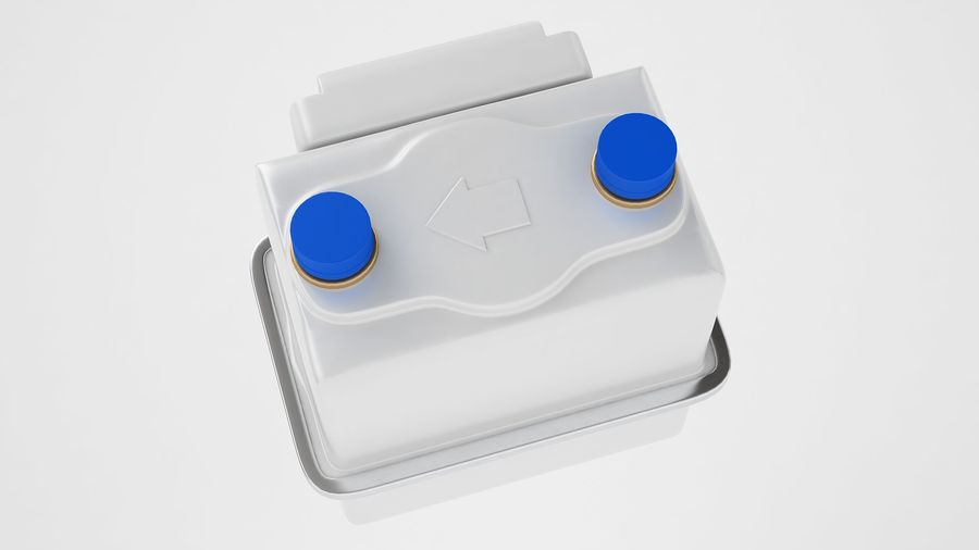 Licznik przedpłaty za gaz 04 royalty-free 3d model - Preview no. 9