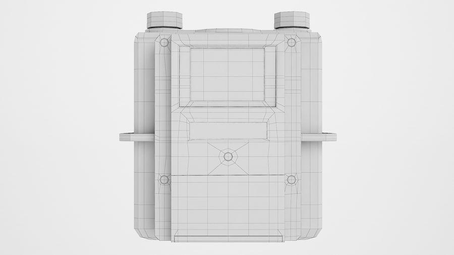 Gaz Ön Ödeme Metresi 04 royalty-free 3d model - Preview no. 6