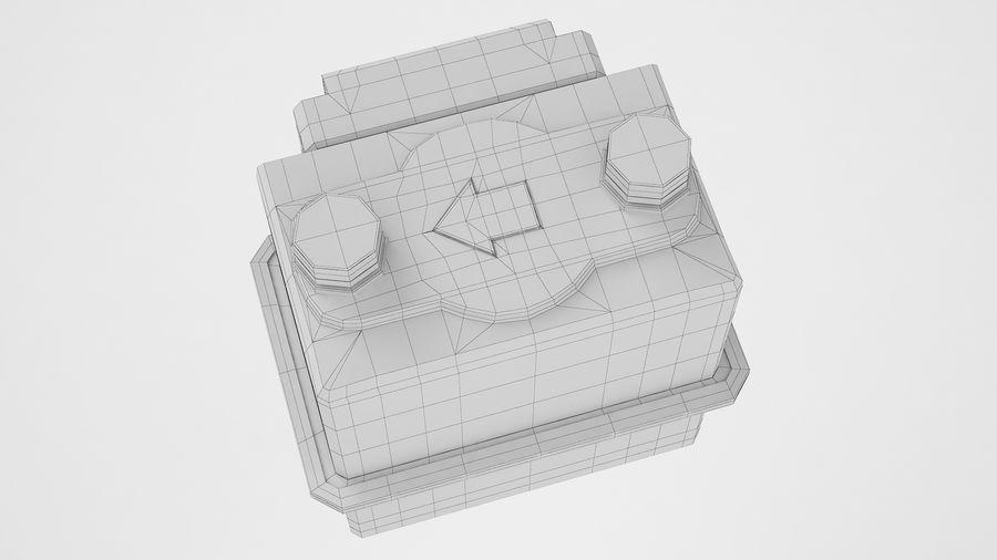 Gaz Ön Ödeme Metresi 04 royalty-free 3d model - Preview no. 10