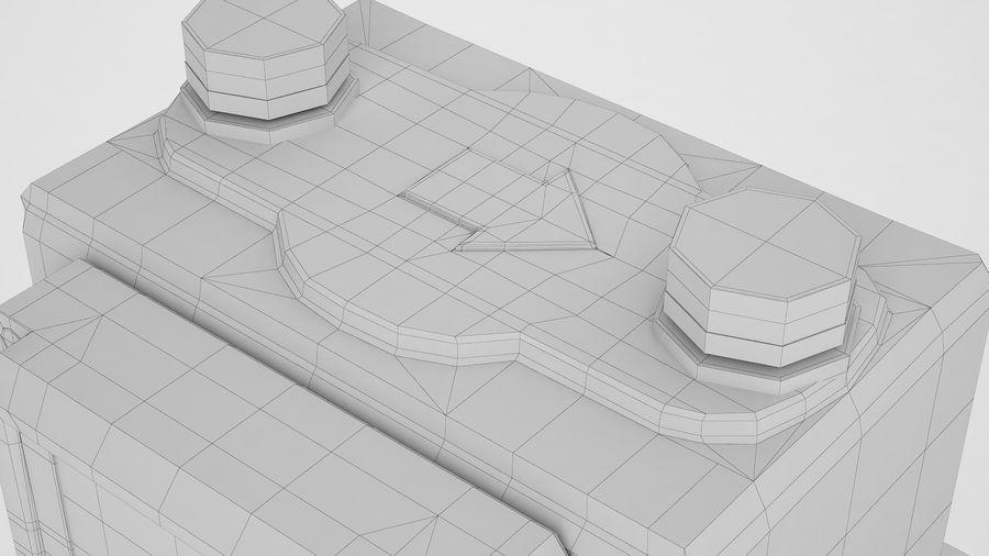 Gaz Ön Ödeme Metresi 04 royalty-free 3d model - Preview no. 16