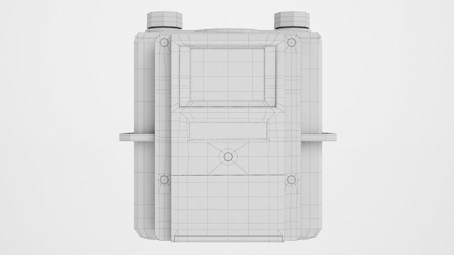 Licznik przedpłaty za gaz 04 royalty-free 3d model - Preview no. 6