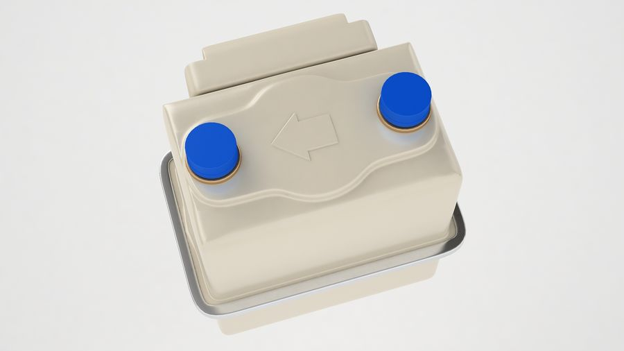 Gas Prepayment Meter 03 royalty-free 3d model - Preview no. 9
