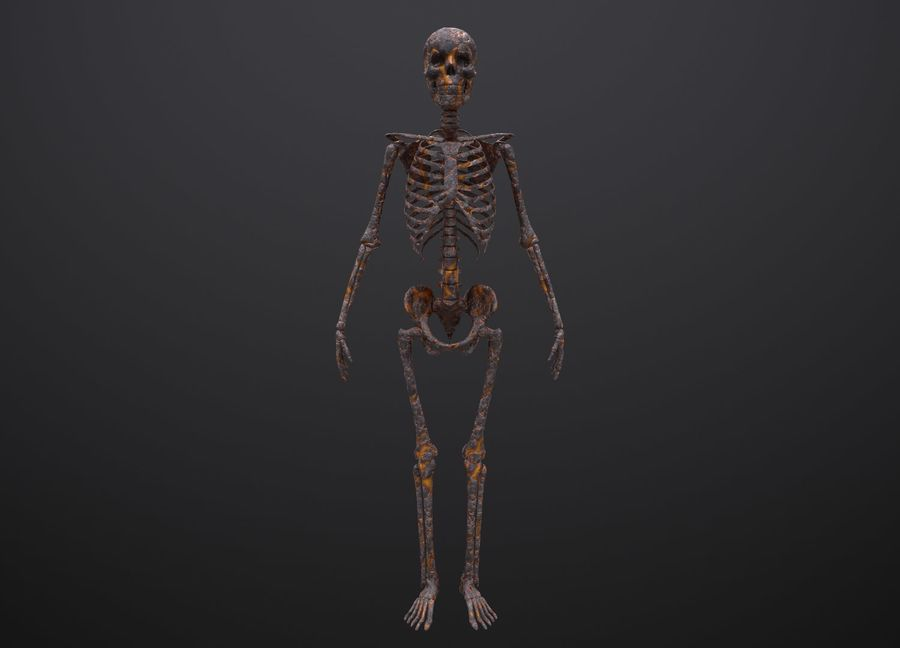Substance Skeleton Army royalty-free 3d model - Preview no. 20
