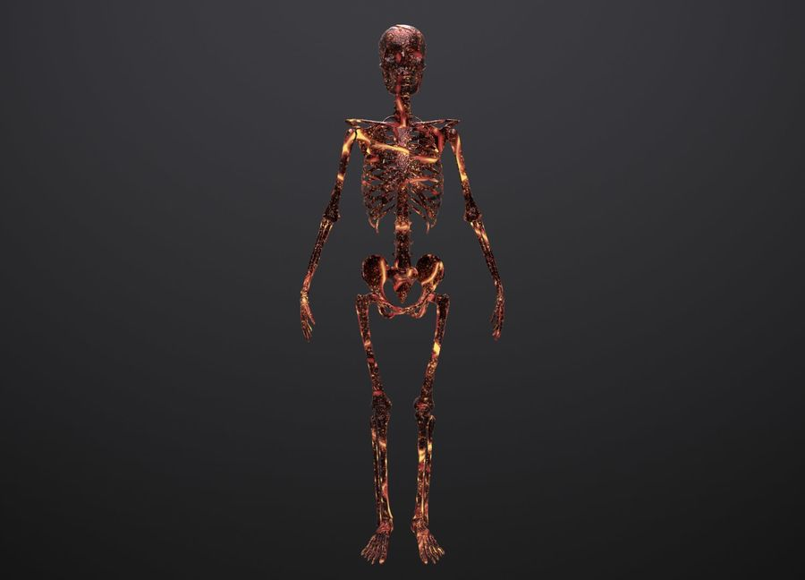 Substance Skeleton Army royalty-free 3d model - Preview no. 17