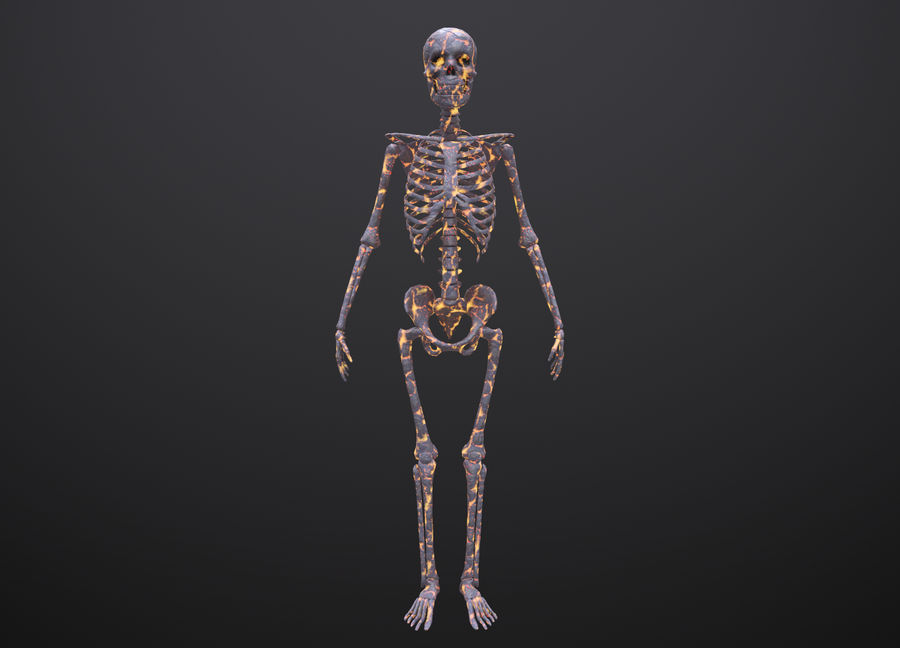 Substance Skeleton Army royalty-free 3d model - Preview no. 19
