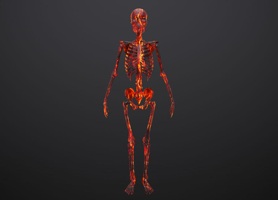 Substance Skeleton Army royalty-free 3d model - Preview no. 11