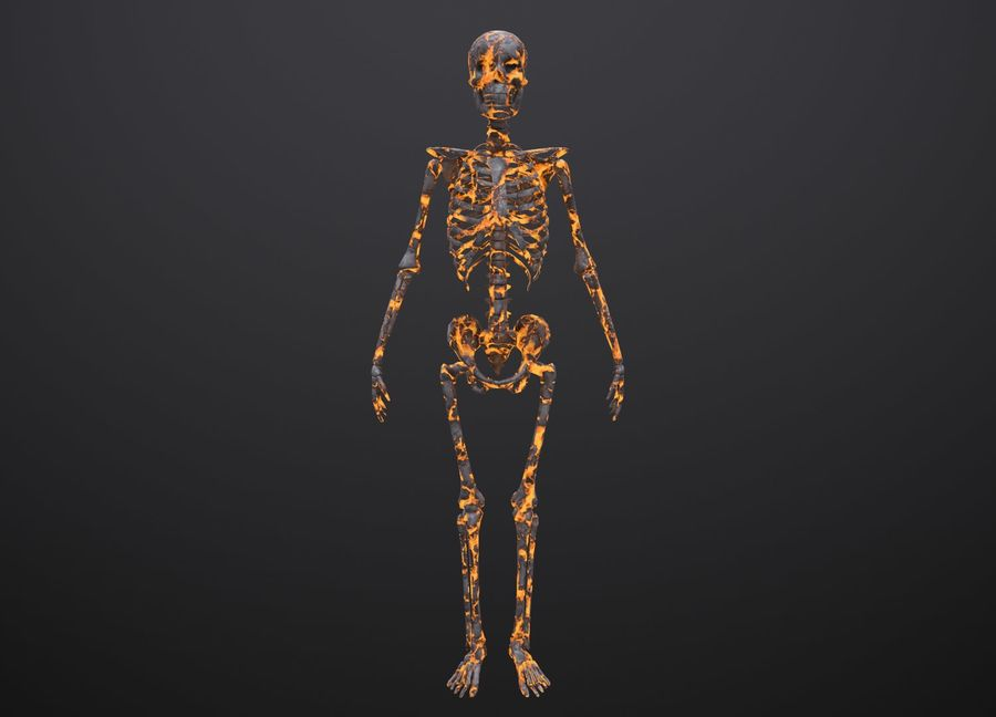 Substance Skeleton Army royalty-free 3d model - Preview no. 18