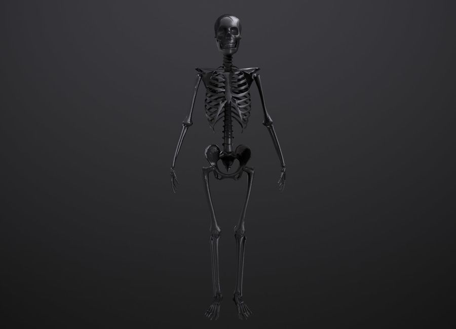 Substance Skeleton Army royalty-free 3d model - Preview no. 6