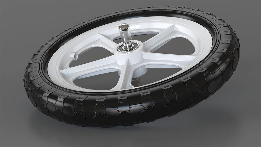 Balance Bike Wheel royalty-free 3d model - Preview no. 2