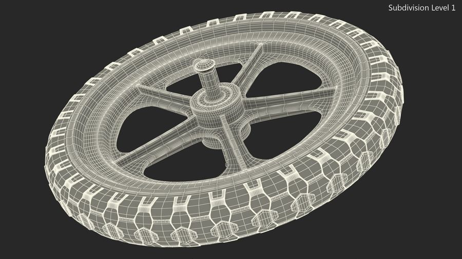 Koło rowerowe Balance royalty-free 3d model - Preview no. 11