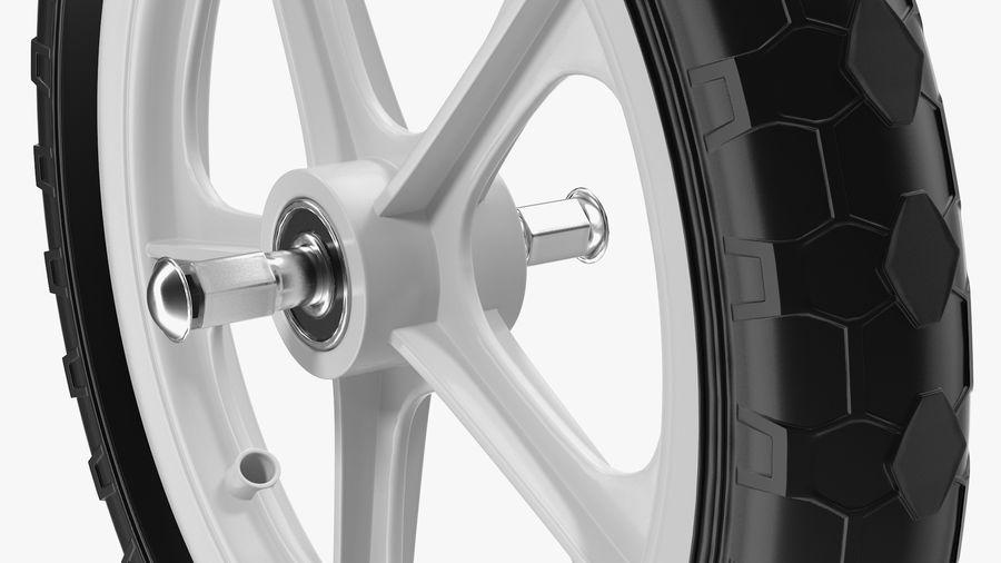 Balance Bike Wheel royalty-free 3d model - Preview no. 7