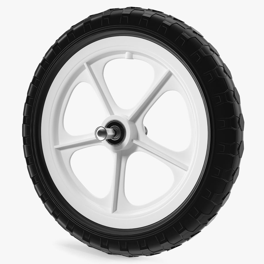 Balance Bike Wheel royalty-free 3d model - Preview no. 1