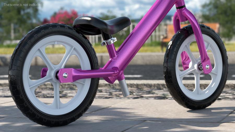 Balance Bike Wheel royalty-free 3d model - Preview no. 3