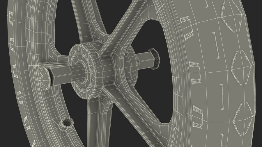 Koło rowerowe Balance royalty-free 3d model - Preview no. 18