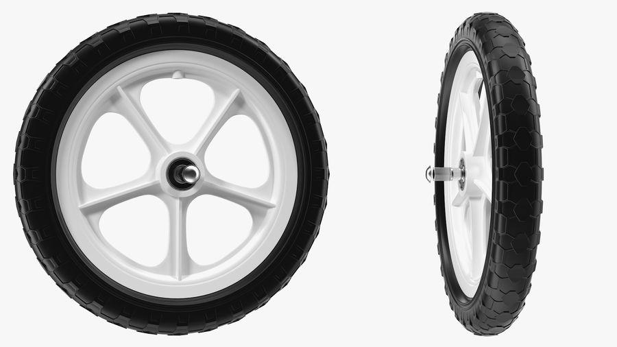Balance Bike Wheel royalty-free 3d model - Preview no. 5
