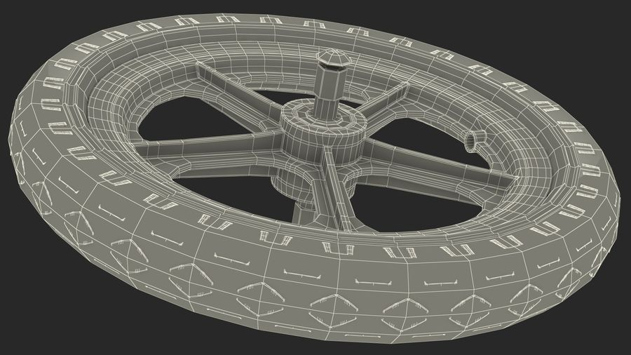 Koło rowerowe Balance royalty-free 3d model - Preview no. 17