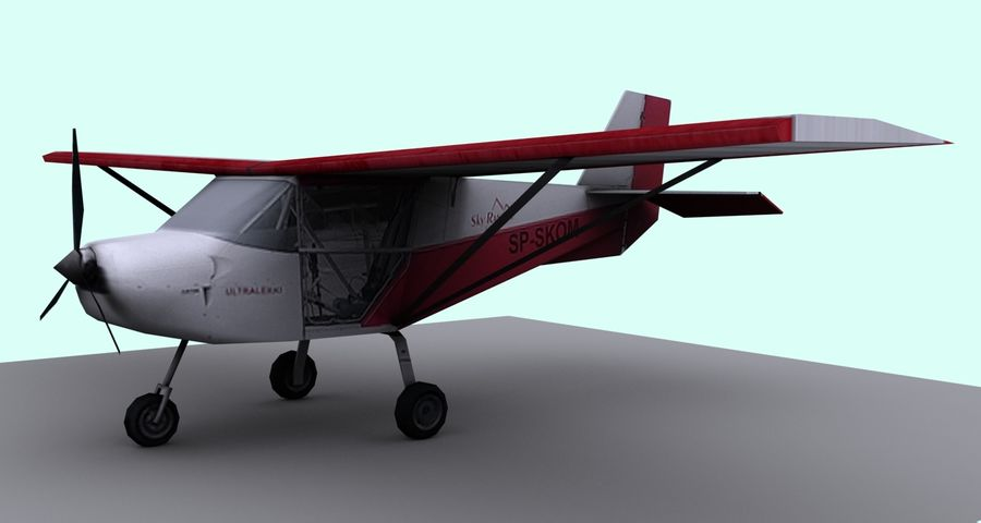 Best Off Skyranger - 1 liberia royalty-free 3d model - Preview no. 4
