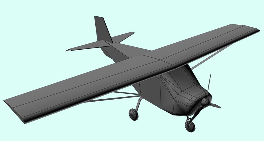 Best Off Skyranger - 1 liberia royalty-free 3d model - Preview no. 5
