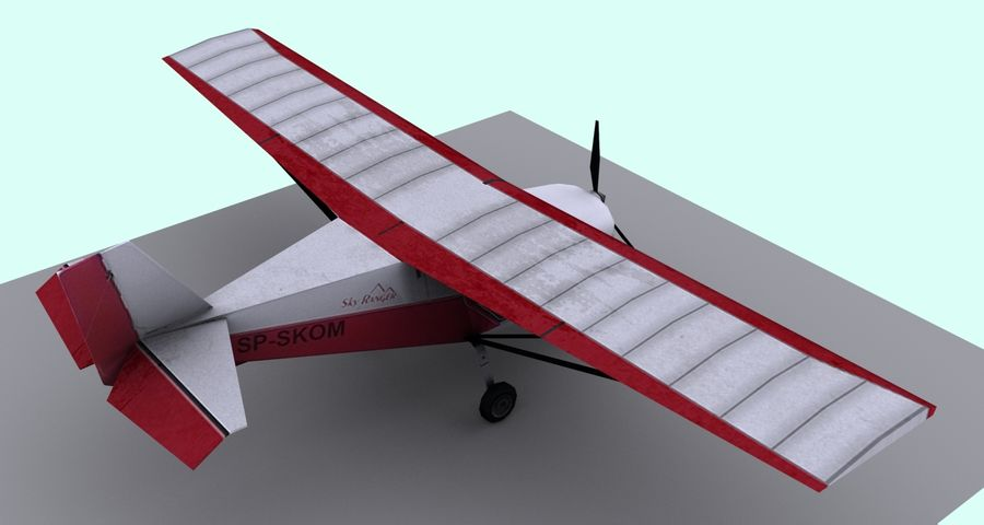 Best Off Skyranger - 1 liberia royalty-free 3d model - Preview no. 2