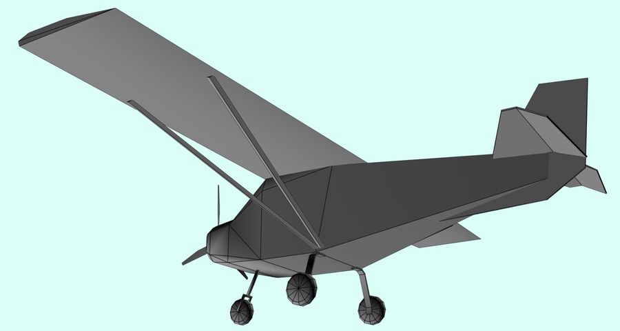 Best Off Skyranger - 1 liberia royalty-free 3d model - Preview no. 6