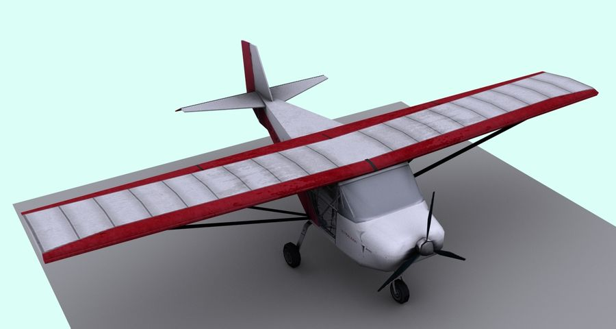 Best Off Skyranger - 1 liberia royalty-free 3d model - Preview no. 3