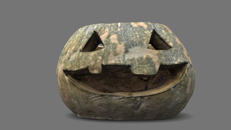 Jack O'Lantern Pumpkin royalty-free 3d model - Preview no. 7