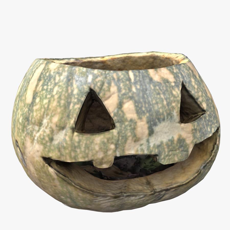 Jack O'Lantern Pumpkin royalty-free 3d model - Preview no. 1