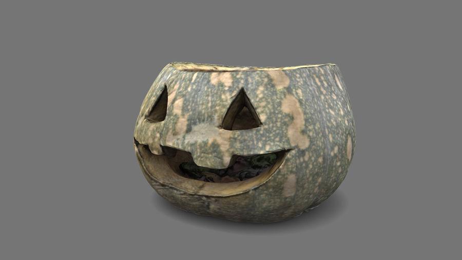 Jack O'Lantern Pumpkin royalty-free 3d model - Preview no. 3
