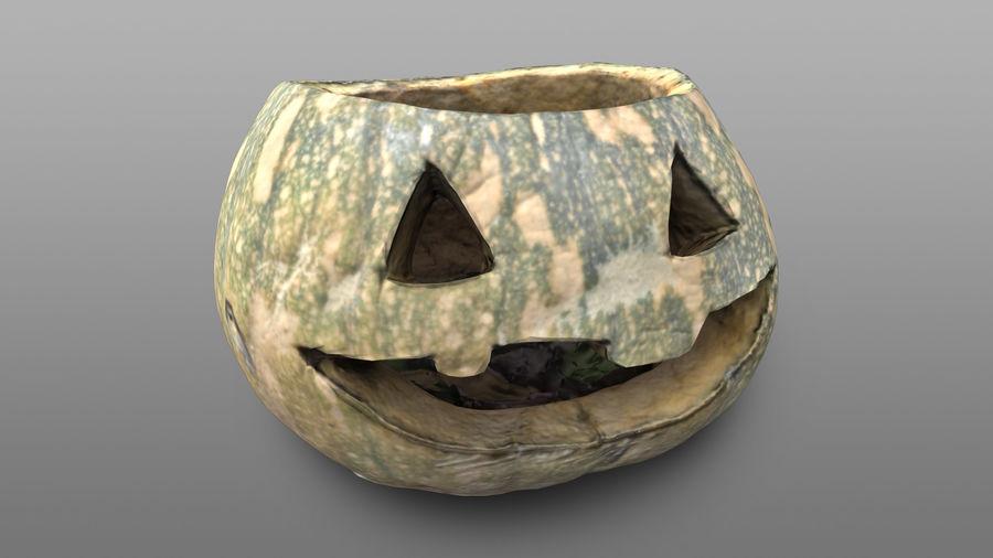 Jack O'Lantern Pumpkin royalty-free 3d model - Preview no. 2