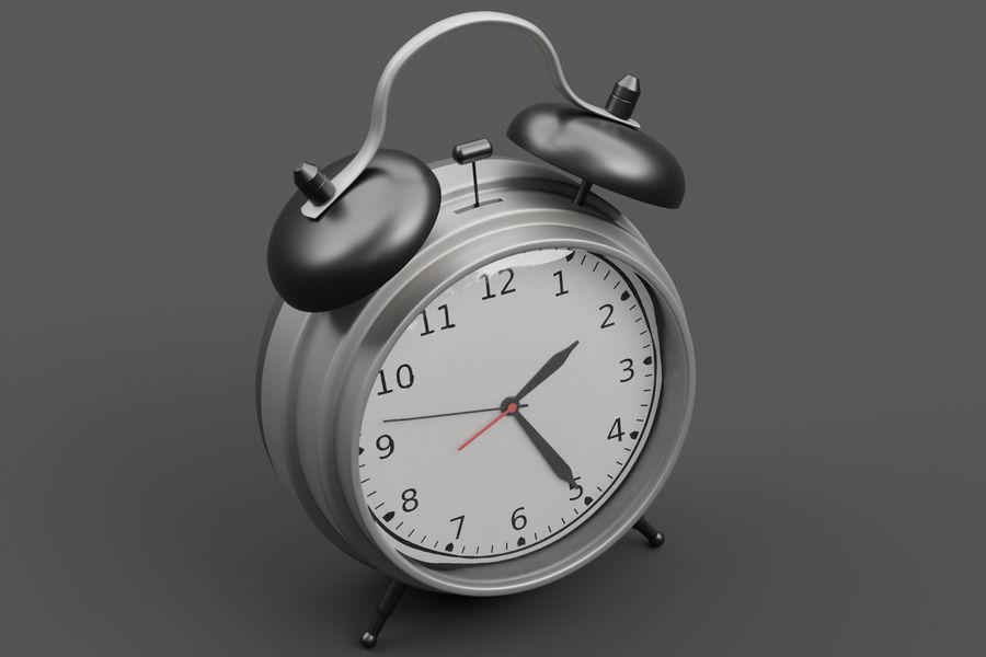 Alarm clock royalty-free 3d model - Preview no. 6