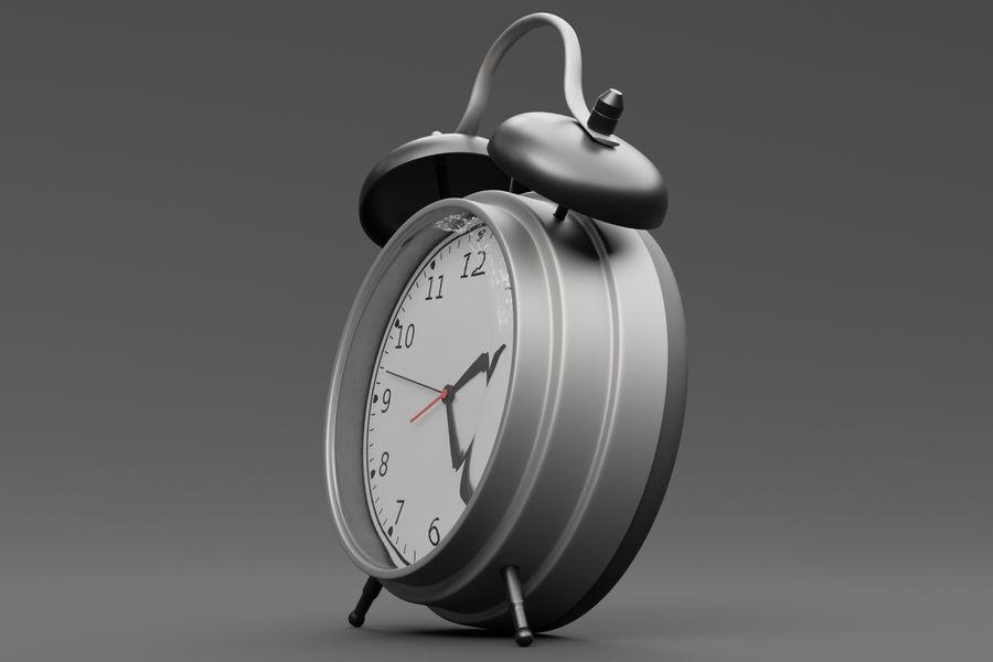 Alarm clock royalty-free 3d model - Preview no. 8