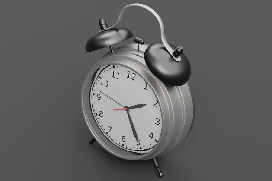 Alarm clock royalty-free 3d model - Preview no. 7