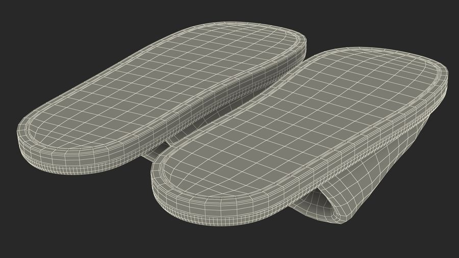 House Slippers Generic royalty-free 3d model - Preview no. 21