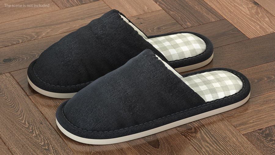 House Slippers Generic royalty-free 3d model - Preview no. 2