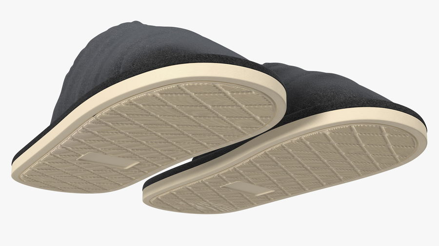 House Slippers Generic royalty-free 3d model - Preview no. 9