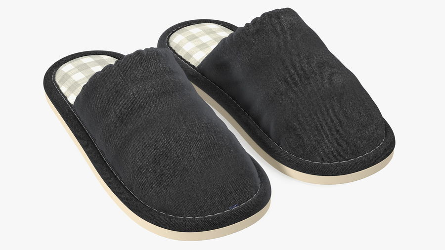 House Slippers Generic royalty-free 3d model - Preview no. 6