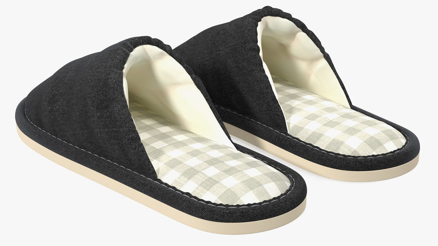 House Slippers Generic royalty-free 3d model - Preview no. 7