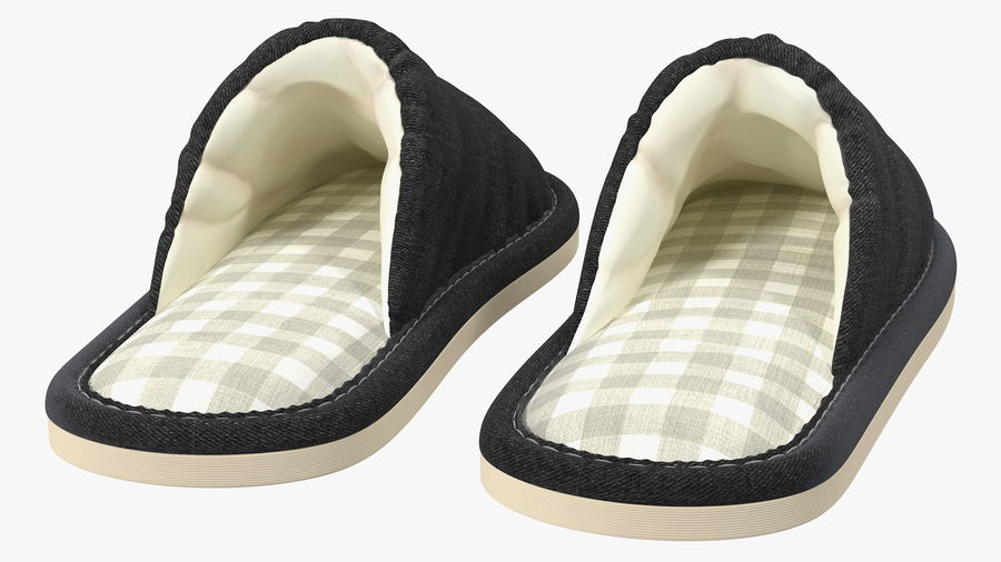 House Slippers Generic royalty-free 3d model - Preview no. 8