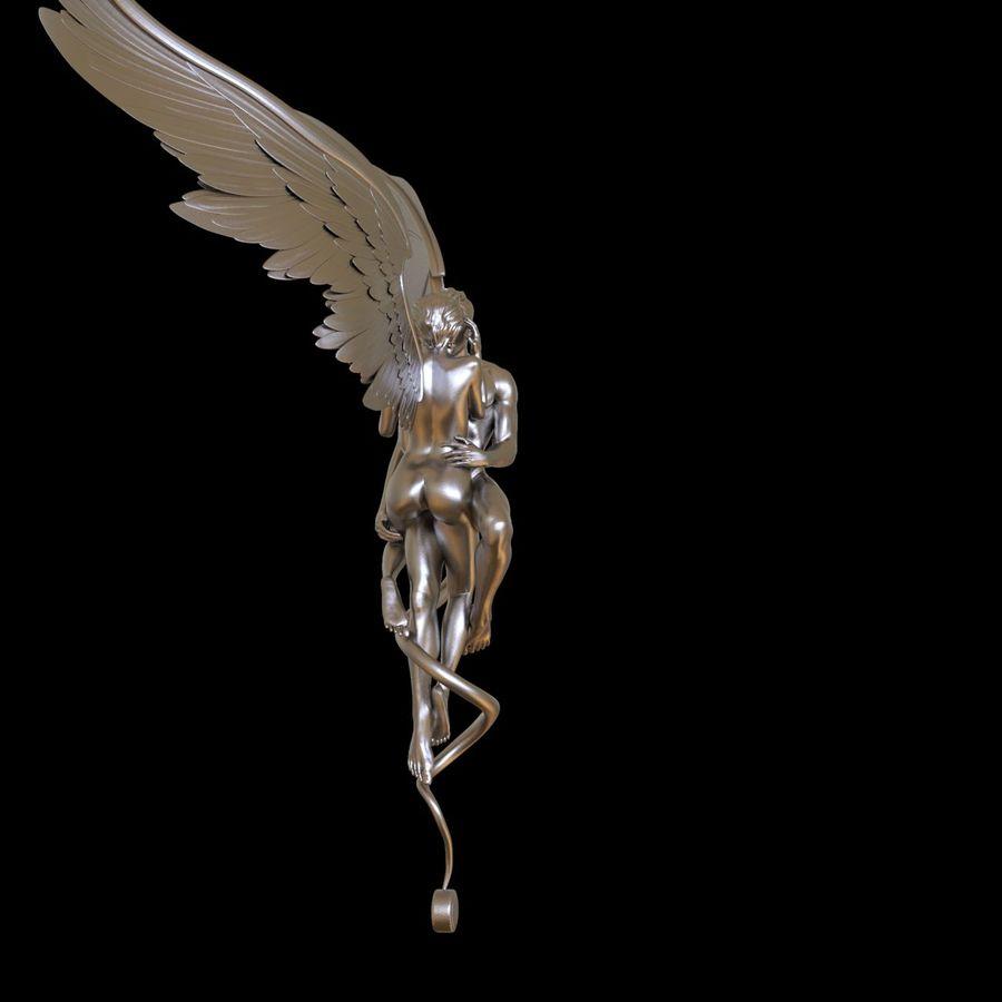ANGEL E DIAVOLO royalty-free 3d model - Preview no. 24