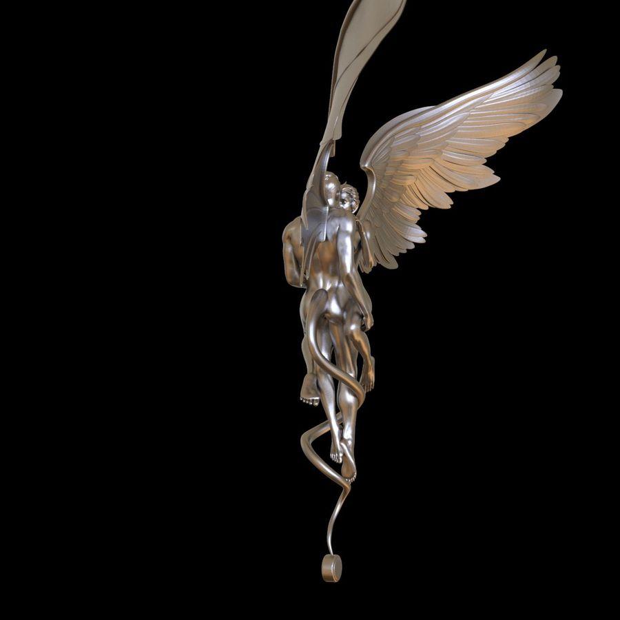 ANGEL E DIAVOLO royalty-free 3d model - Preview no. 11