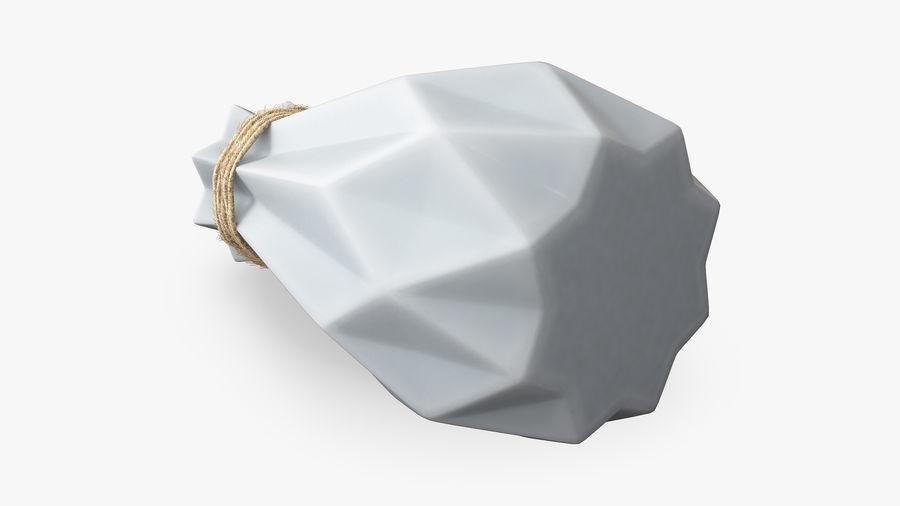 Modern Fashion Diamond shape Vase royalty-free 3d model - Preview no. 7