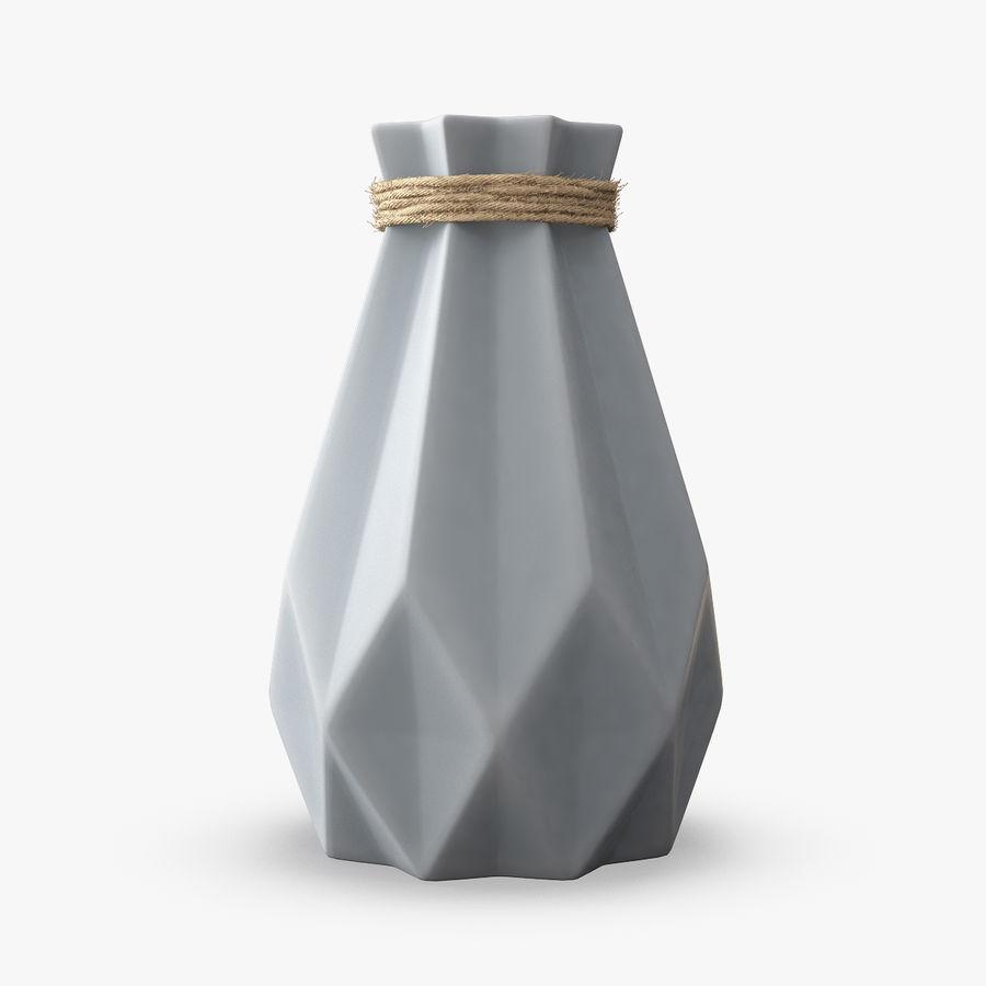 Modern Fashion Diamond shape Vase royalty-free 3d model - Preview no. 1