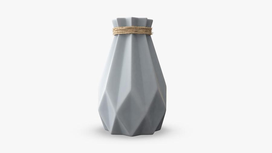 Modern Fashion Diamond shape Vase royalty-free 3d model - Preview no. 3