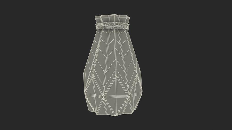Modern Fashion Diamond shape Vase royalty-free 3d model - Preview no. 15