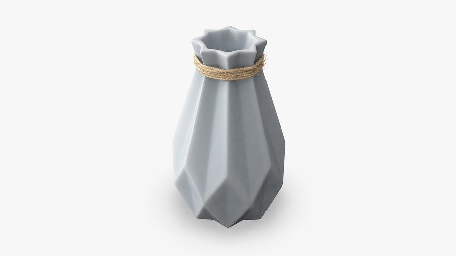 Modern Fashion Diamond shape Vase royalty-free 3d model - Preview no. 4