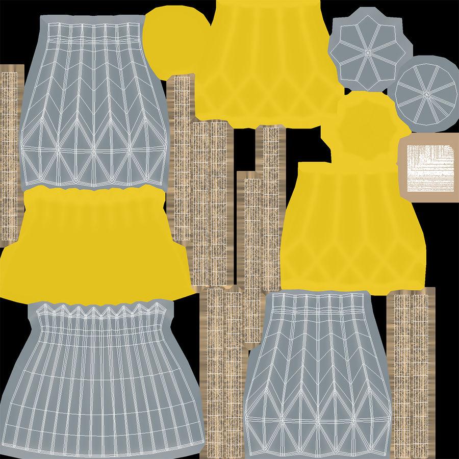 Modern Fashion Diamond shape Vase royalty-free 3d model - Preview no. 10