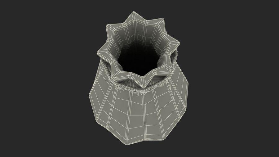 Modern Fashion Diamond shape Vase royalty-free 3d model - Preview no. 16