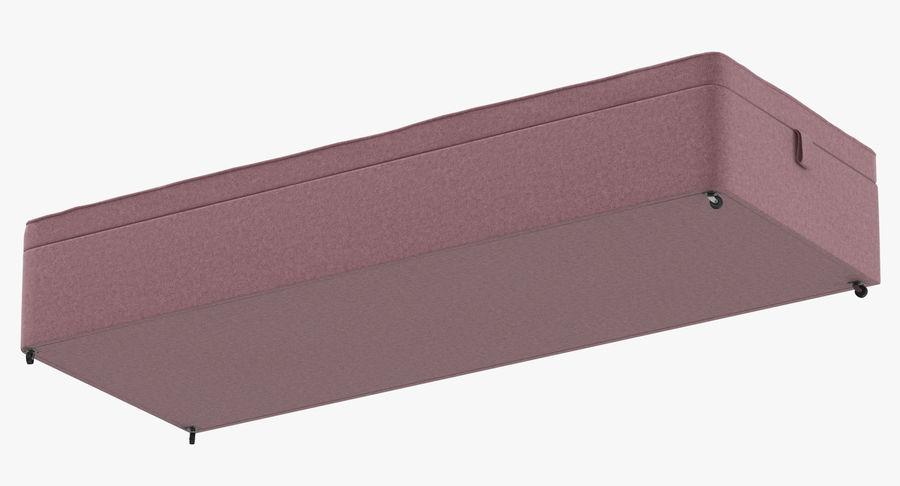 Bed Base 02 Blush royalty-free 3d model - Preview no. 9
